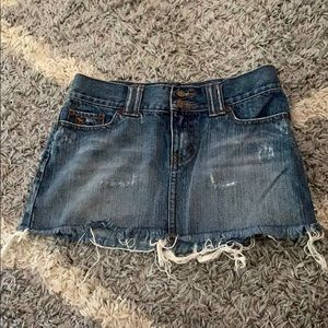 Abercrombie & Fitch Jean skirt size 00